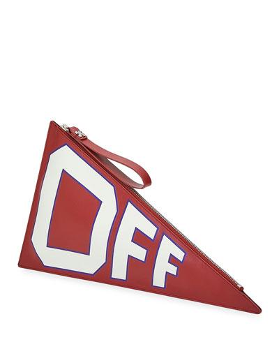 Mattone Flag Clutch Bag