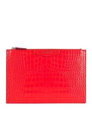 a29e55283c Givenchy Antigona Medium Pouch Clutch Bag