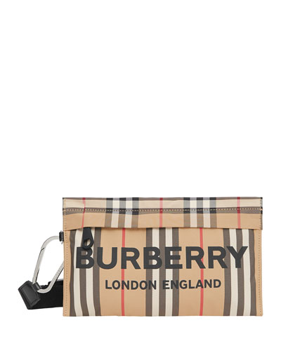 Iconic Check Clutch Bag