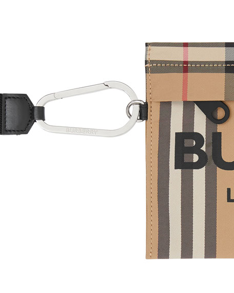 Burberry Iconic Check Clutch Bag