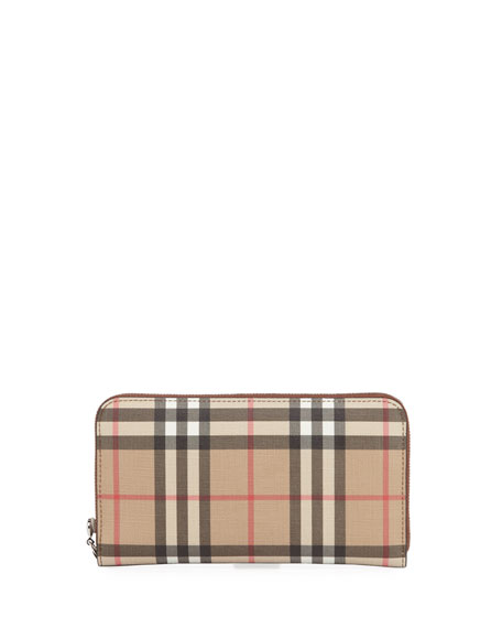 Burberry Elmore Vintage Check Wallet