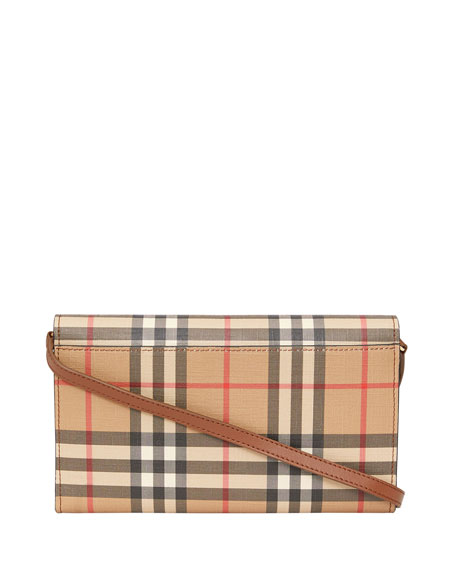 Burberry Hanna Vintage Check Crossbody Bag