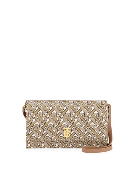 Burberry Hazelmere TB Monogram Crossbody Bag