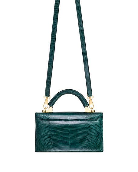 STALVEY Mini Lizard Top-Handle Bag