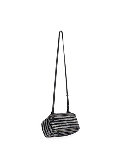 Pandora Mini Striped Crossbody Bag
