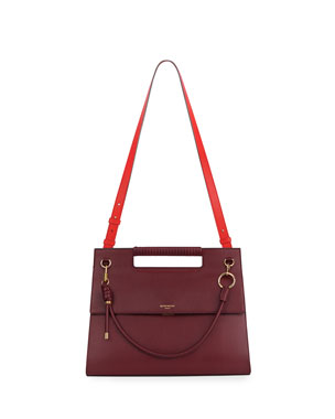 58e70bc677 Givenchy Whip Large Two-Tone Shoulder Bag