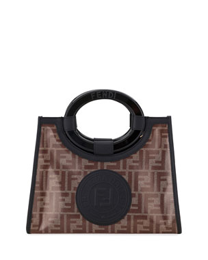 bac5a10bd8c5 Fendi Runaway Small FF Tote Bag
