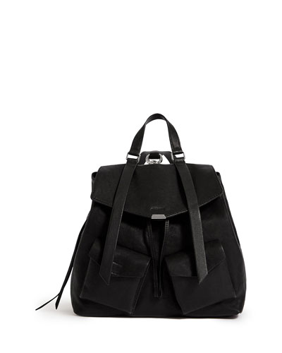 Tower Washed Leather Backpack