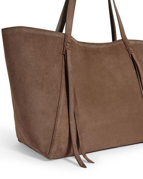 AllSaints Ziggy Suede Tote Bag