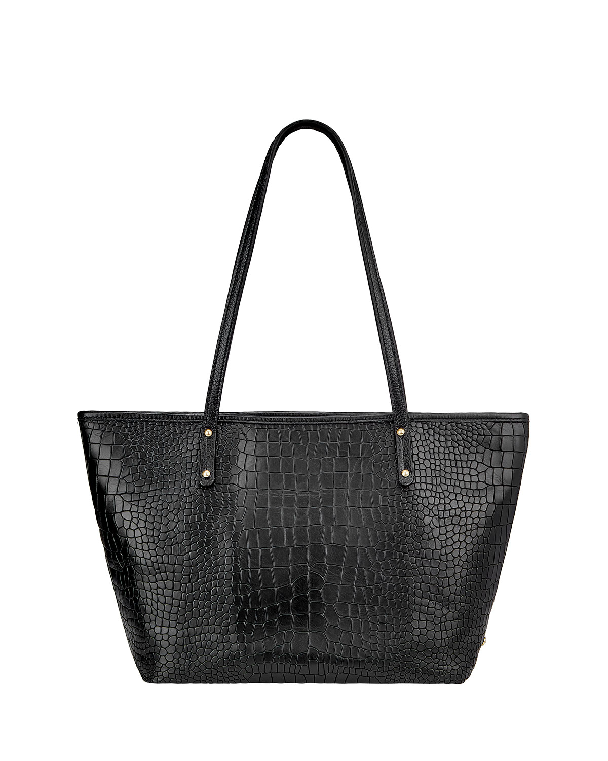 Gigi New York Taylor Crocodile-Embossed Tote Bag