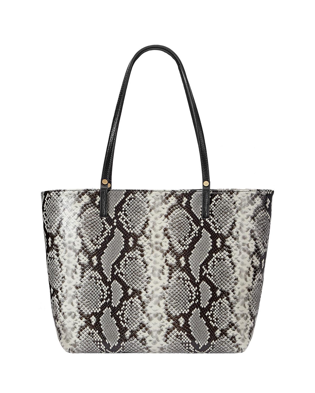 Gigi The Christmas Snake.Tori Snake Print Tote Bag