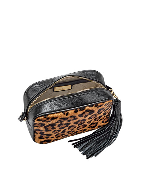 Gigi New York Madison Leopard Hair Crossbody Bag