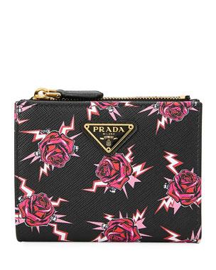 f8c3deaca49c Prada Wallets, Keychains & Bag Charms at Neiman Marcus