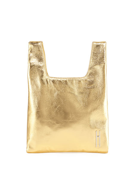Hayward Mini Foiled Shopper Tote/Clutch Bag