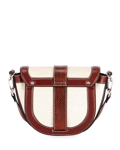 Proenza Schouler PS11 Small Canvas Saddle Bag