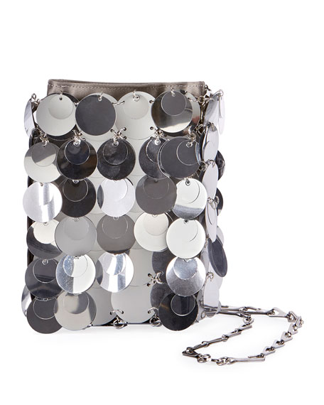 Paco Rabanne 1969 Iconic Sparkle Mini Shoulder Bag