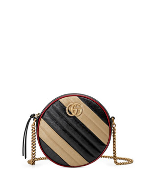 55beefa4443 Gucci GG Marmont Mini Camera Crossbody Bag