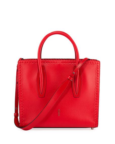 Christian Louboutin Paloma Medium EmpireSole Leather Top-Handle Bag