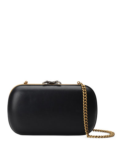 Broadway Butterfly Leather Clutch Bag