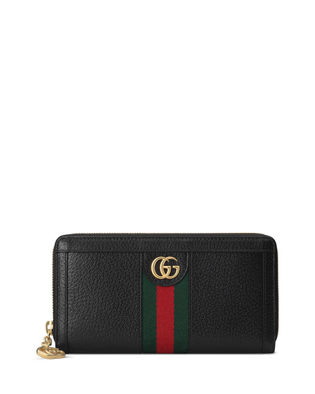 Gucci Ophidia Leather Continental Wallet