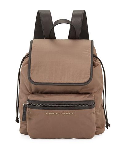 Techno Nylon Backpack