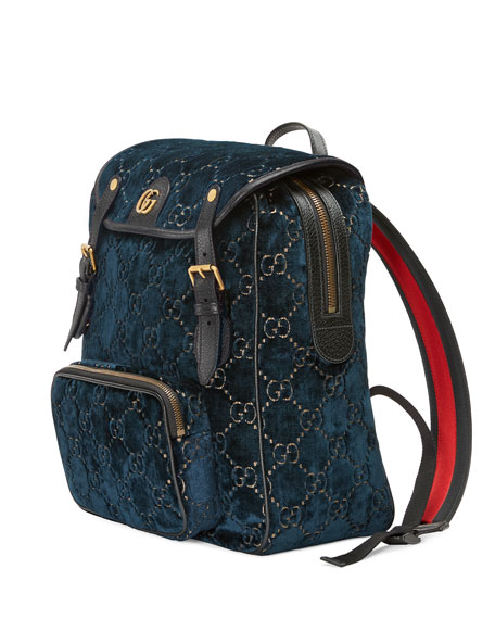 Gucci GG Velvet Backpack