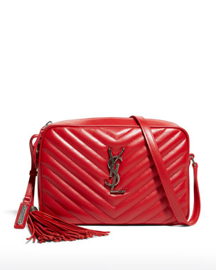 e72ff807e4f Saint Laurent Lou Medium Monogram YSL Crossbody Bag
