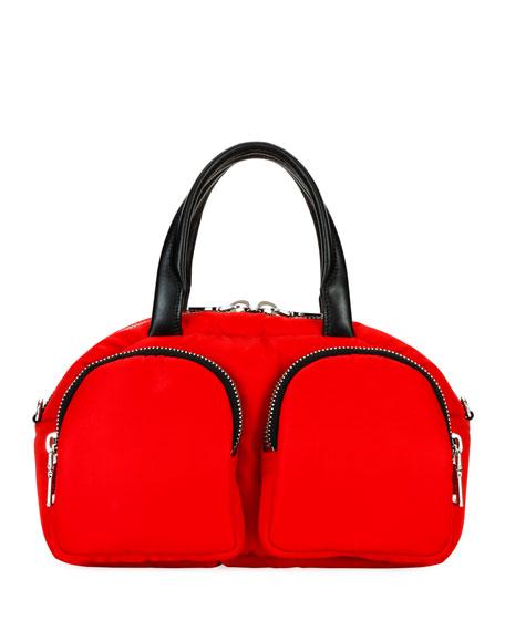 Prada Nylon Cargo Bowler Bag