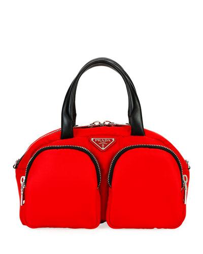 Nylon Cargo Bowler Bag