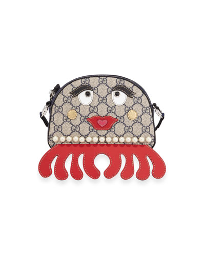 Girls' GG Supreme Octopus Shoulder Bag