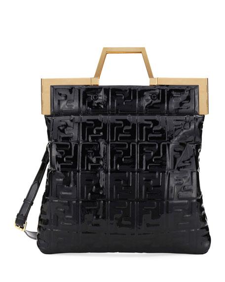 Fendi Catwalk Convertible Tote/Clutch Bag