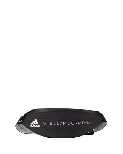 Logo Zip-Top Polyurethane Belt Bag