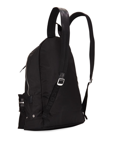 The Marc Jacobs Large Nylon Dual-Zip Backpack Bag