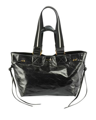 Bagya New Crackled Tote Bag  Black