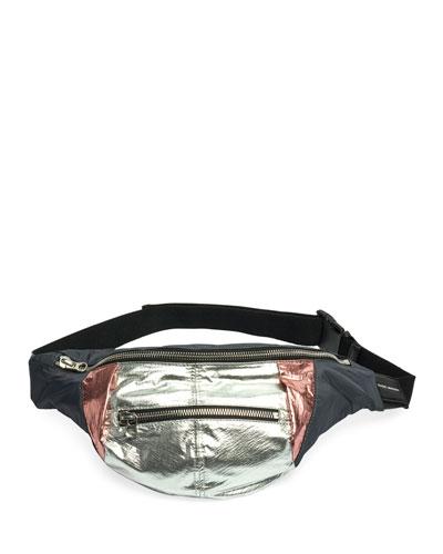 Noomi Soft Nylon Belt Bag