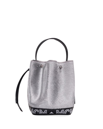 Milano Lux Drawstring Mini Shoulder Bag