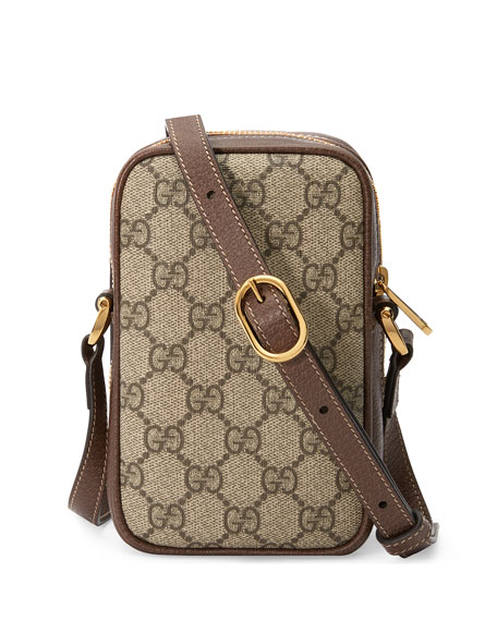 Gucci Ophidia North/South Zip Crossbody Bag