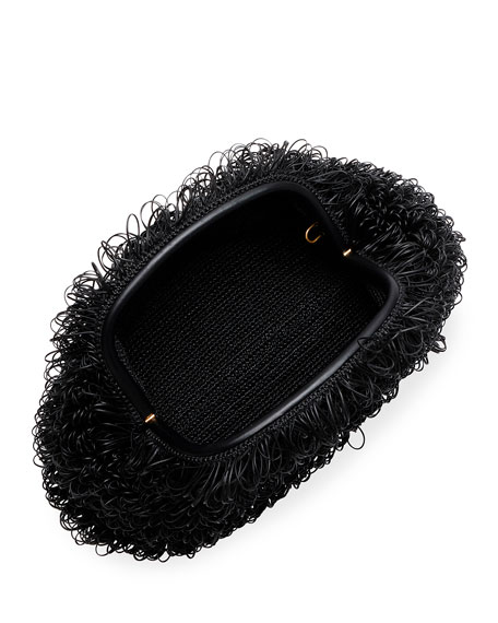 Bottega Veneta The Pouch Large Curly Clutch Bag