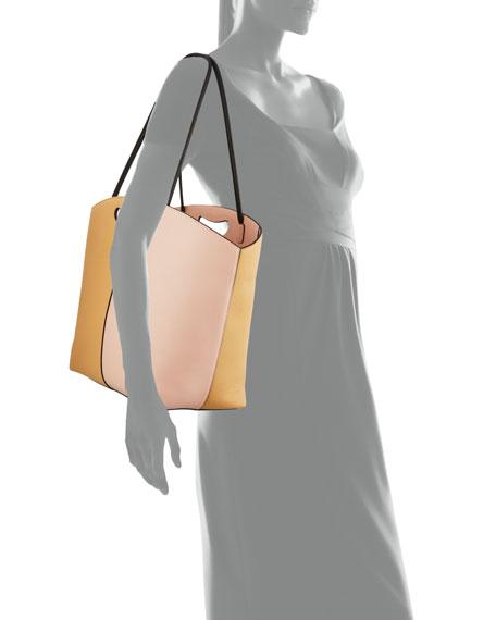 Hayward 1712 East-West Two-Tone Tote Bag