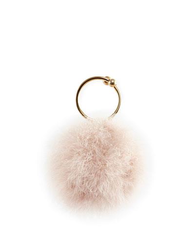 Milady Feather Clutch Bag