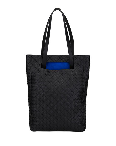 Bottega Veneta Intrecciato North/South Bucket Tote Bag
