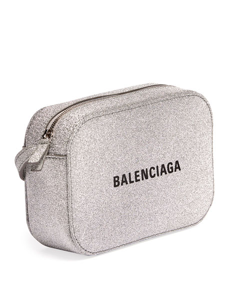 Balenciaga Everyday XS Glittered Crossbody Bag