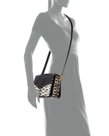Nancy Gonzalez Small Soft Snakeskin Crossbody Bag