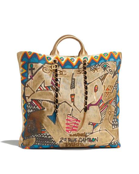 CHANEL MAXI SHOPPING BAG