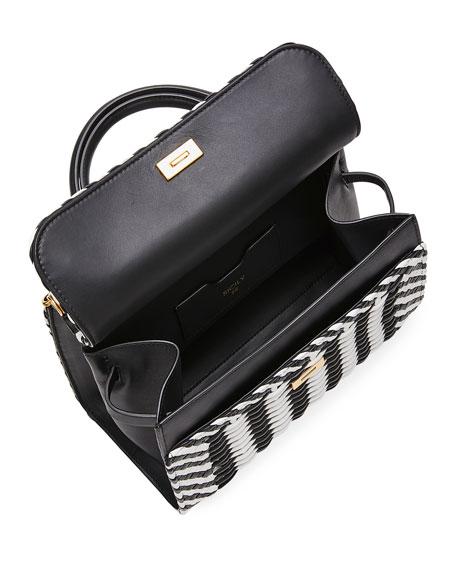 Dolce & Gabbana Intreccio Napa Checked Top-Handle Bag