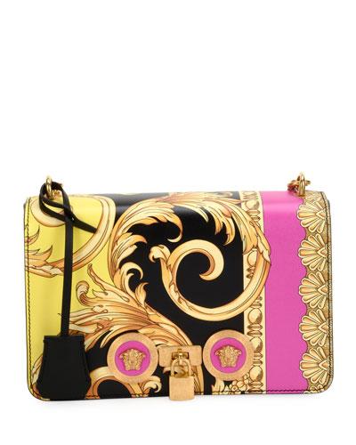 The Goddess Vitello Leather Crossbody Bag