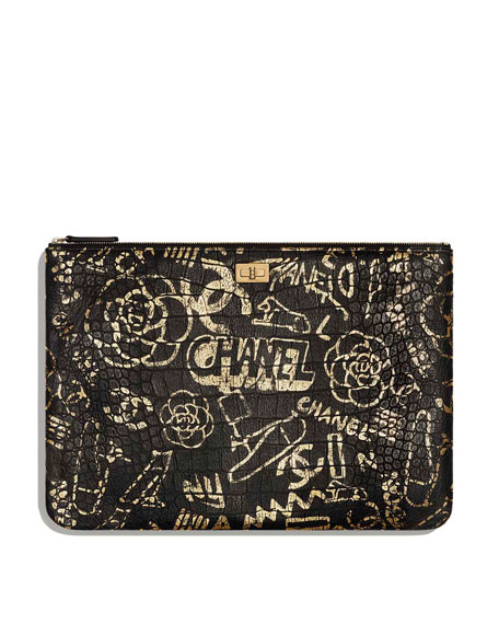 CHANEL LARGE 2.55 POUCH