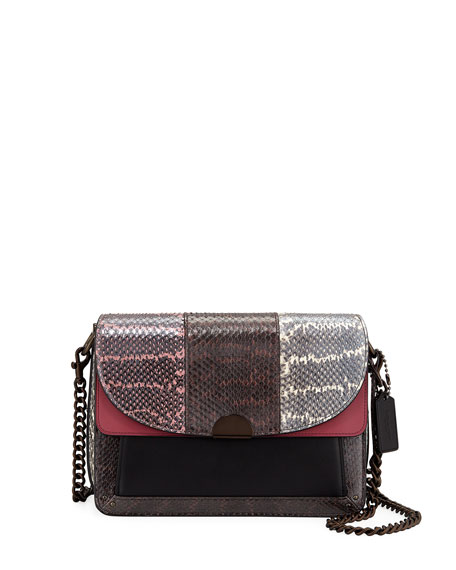 Coach 1941 Dreamer Snake Shoulder Bag