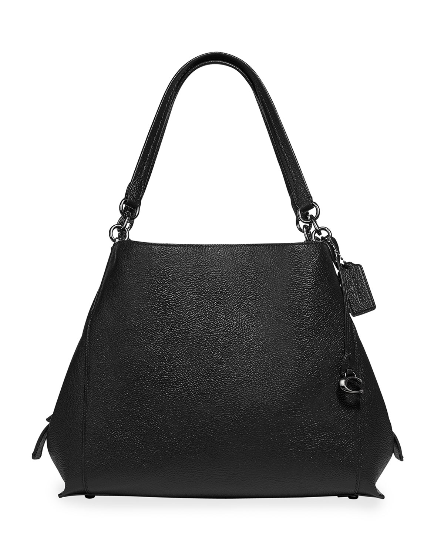 c420f0a9be Dalton 31 Pebbled Leather Tote Bag