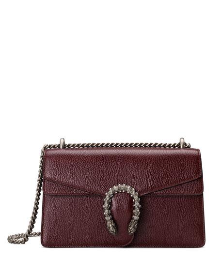 Gucci Dionysus Pebbled Leather Shoulder Bag